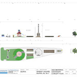 Burra Memorial garden Plan and Elevation